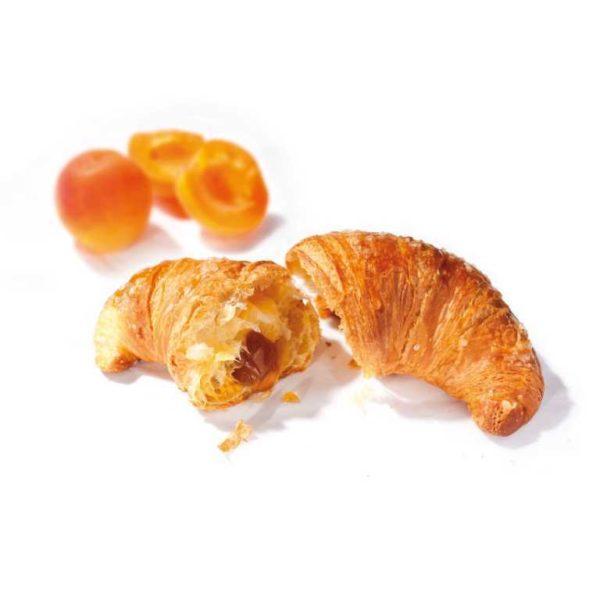 Cornetto prelievitato con marmellata di albicocca
