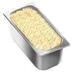 Vaschetta di gelato mantecato al gusto di crema. Vaschetta grande.