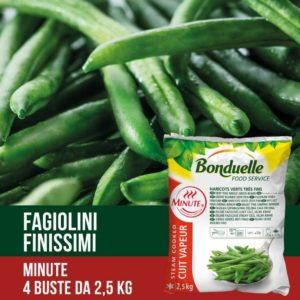 Fagiolini verdI preparati da baccelli verdi non completamente maturi. Prodotto vegano. Senza glutine.