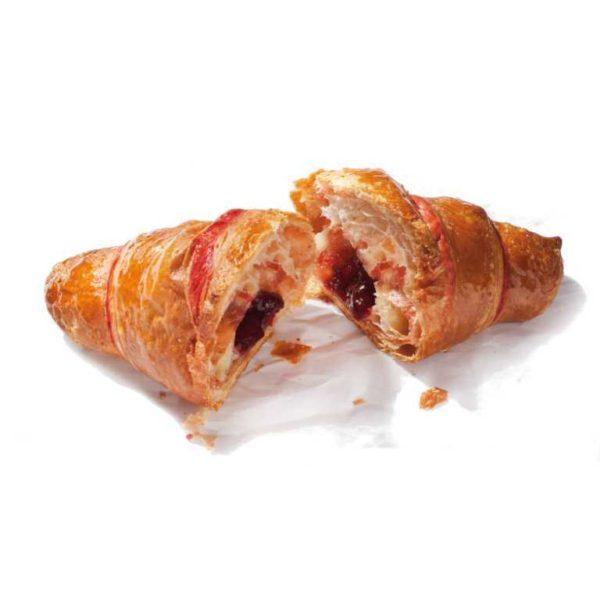 Croissant classico con farcituradi frutti di bosco