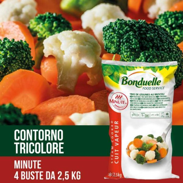 Misto di verdure preparato con cavolfiori