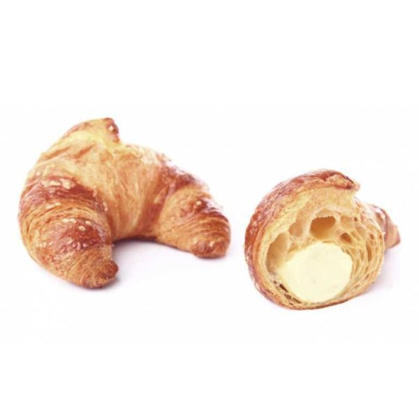 Innovazione e tradizione si fondono in questo croissant dal gusto Italiano ripieno di delicata crema al limone