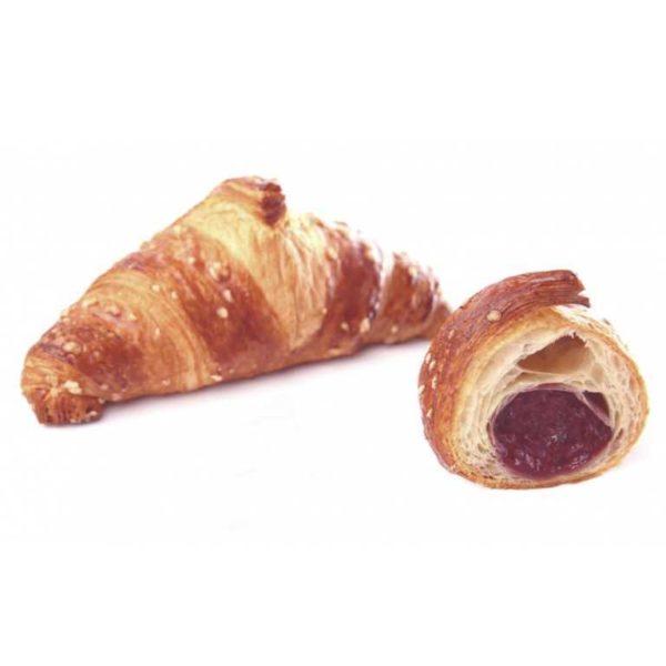 Le note dolci ed intense della confettura al lampone conferiscono a questo croissant un sapore fresco ed inconfondibile.