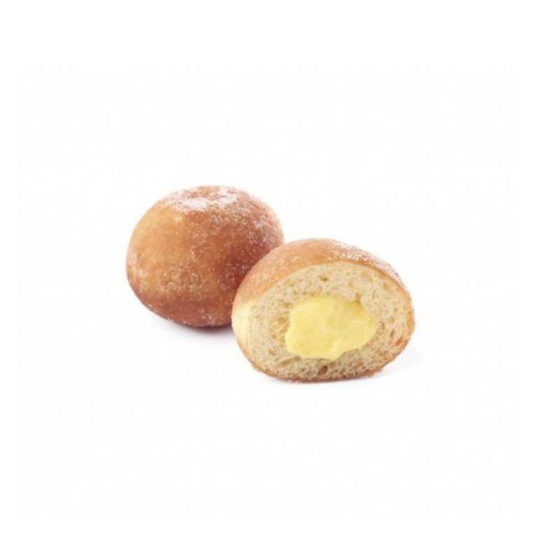 Piccole delizie ripiene di fresca crema pasticcera
