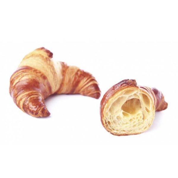 Il classico croissant curvo con soffice burro