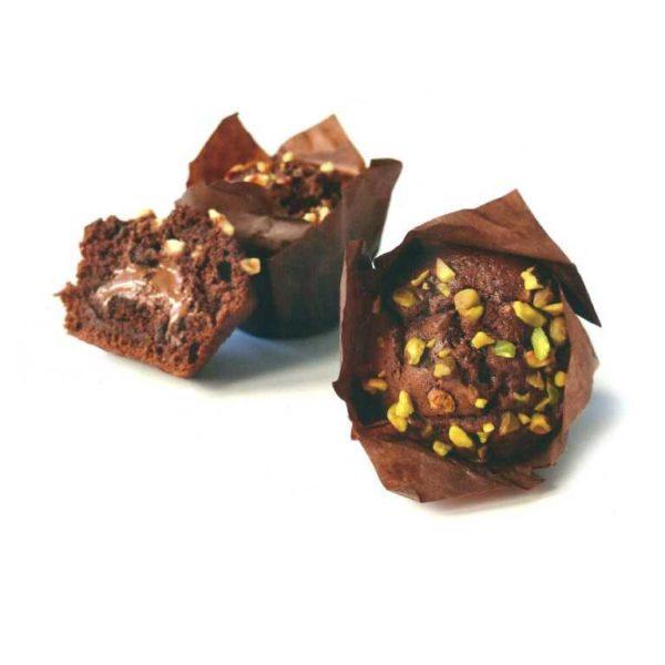 Il piacere di 3 cioccolati insieme in un morbido impasto per iniziare bene la giornata