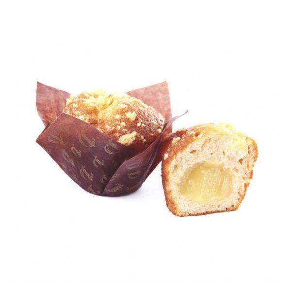 L'instancabile fragranza delle mele d'autunno sigillata sotto forma di buonissimo muffin alla mela e cannella.