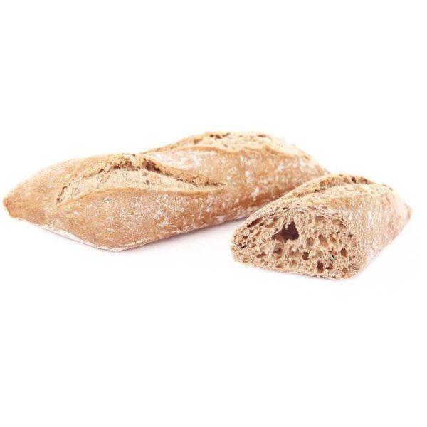 Panino dall'aspetto originale con forma romboidale allungata in gustosa e fragrante versione multicereali.