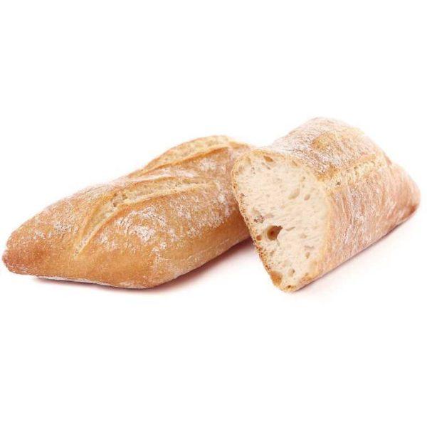 Panino di grano tenero leggero e fragrante dall'originale forma romboidale.