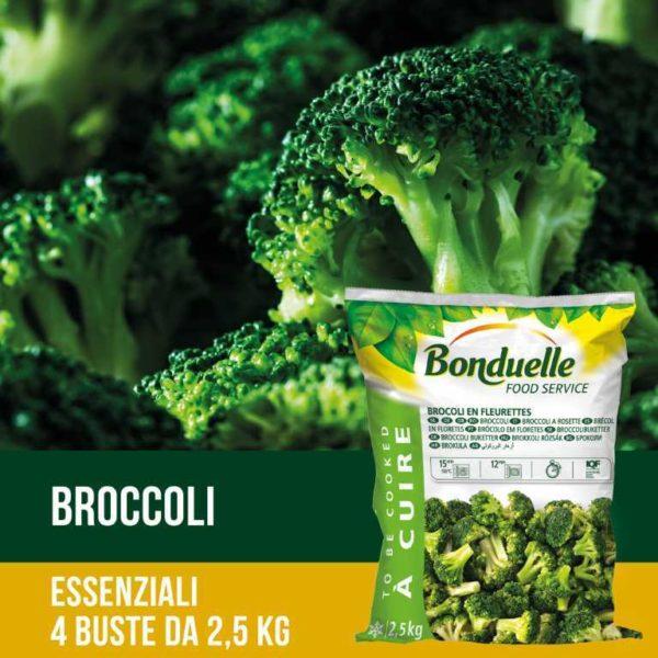 Broccoli a rosette