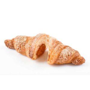 Gran croissant con confettura all'arancia con scorzette