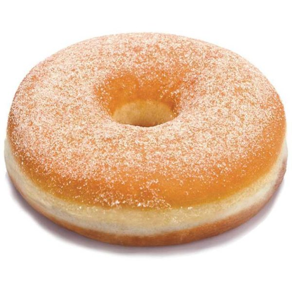 Maxi ciambella prefritta con granella di zucchero