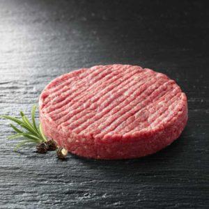 Hamburger di carne trita di Fassona