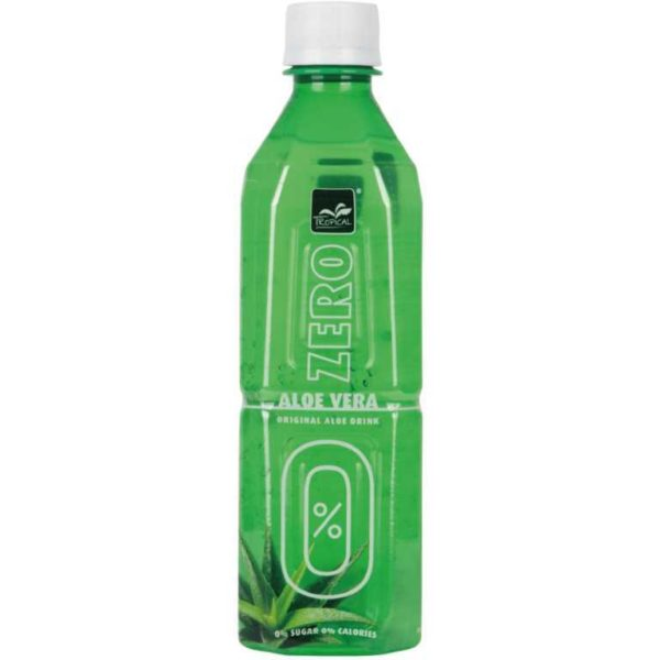 Bevanda al gusto di Aloe Vera senza zucchero.