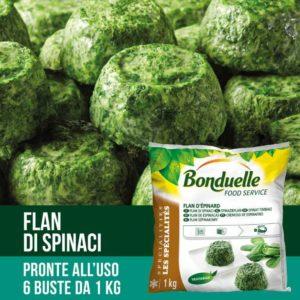 Flan di spinaci in monoporzione