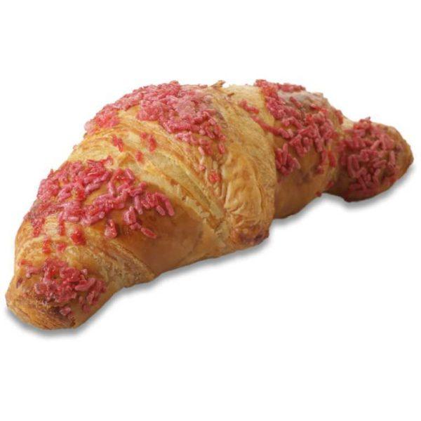 Croissanti al burro ripieno di confettuta ai frutti rossi.