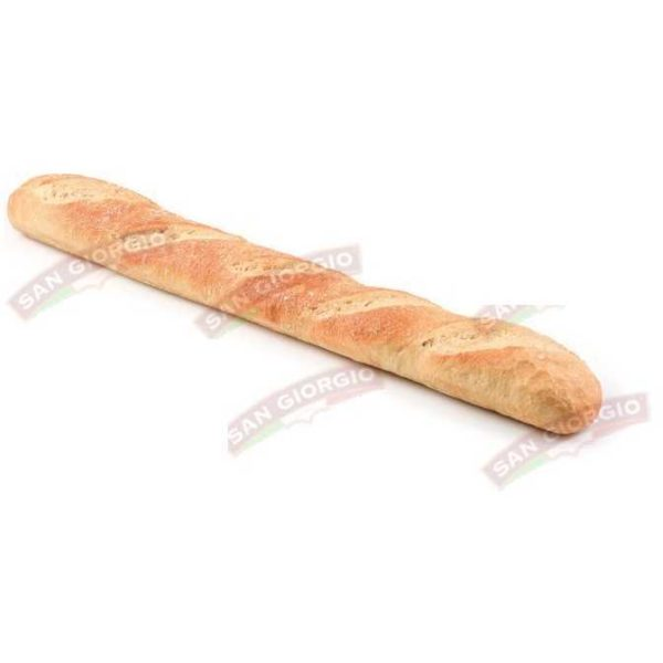 Baguette con la classica ricetta francese. Dimensioni: 52cm