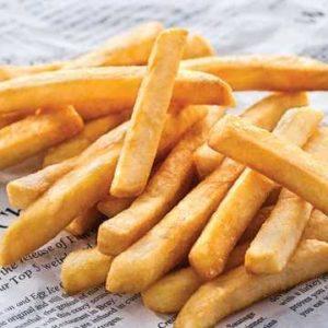 Patate fritte dal gusto pieno senza aromi estranei dalla consistenza  uniforme