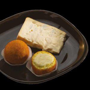 I sapori piemontesi si incotrano con quelli del Trentino: riso e gorgonzola del novarese che si fondono con lo speck dell'Alto Adige. Un gusto deciso e stuzzicante