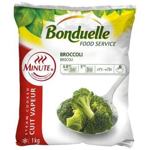 Broccoli raccolti nel perfetto periodo di maturazione