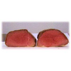 Roast beef all'inglese: sottofesa di bovino adulto aromatizzata e cotta all'Inglese. N.B. Prodotto a Peso Variabile.
