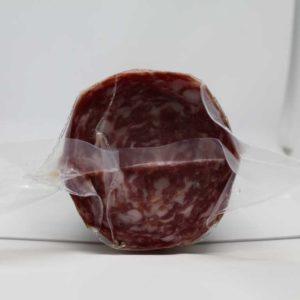 Salame prodotto con carne di suino pesante