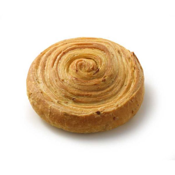 Pane di sfoglia con impasto alla curcuma.