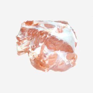 Importante taglio di carne della zona vicino all'anca del bovino