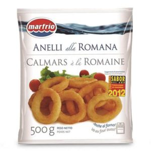 Anelli di calamaro alla Romana