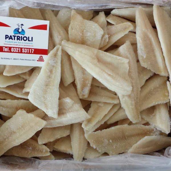 Filetti di pesce persico. Origine: Estonia. Taglia: 20/40
