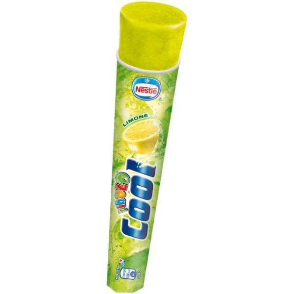 """""""Tubo"""" ghiacciato al succo di limone. Senza glutine."""