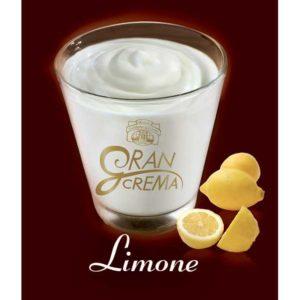Busta per crema di gelato al limone ottenuto dal mantecato di Antica Gelateria del Corso.