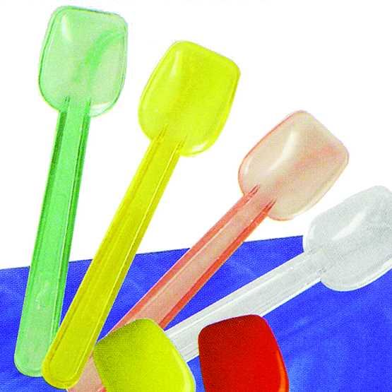 Cucchiaini in plastica per gelato.