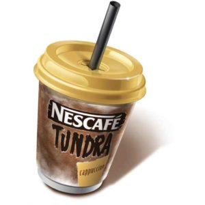 Cremosa miscela gelata al gusto di cappuccino