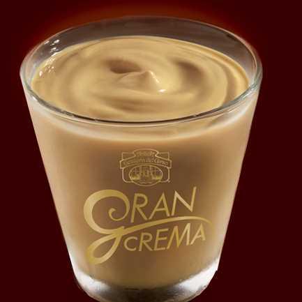 Busta per crema di gelato al caffè ottenuto dal mantecato di Antica Gelateria del Corso.