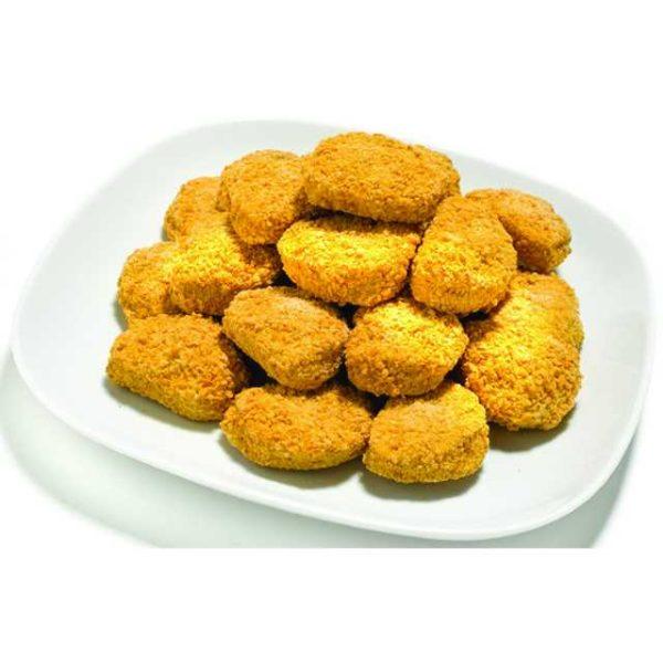 Più di 45 bocconcini di filetti di pollo in confezioni da 1 Kg.