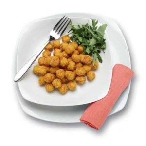 Mini crocchette a base di pollo