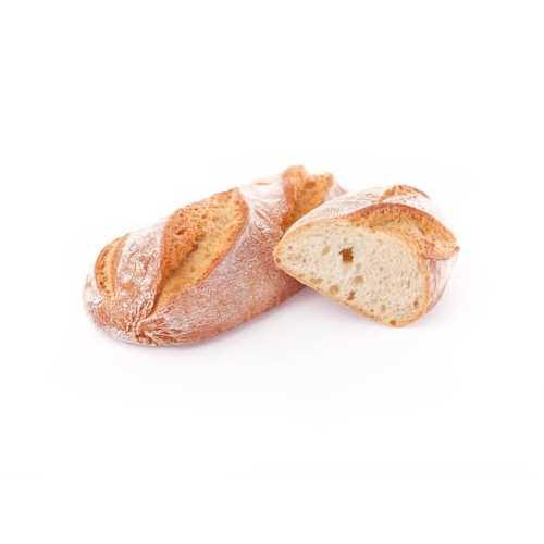 Classica ciabattina con lievitazione di oltre 16 ore e farina di semola.