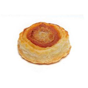 Pizzette con mozzarella. Dimensioni: 50mm