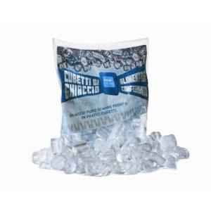 Cilindretti forati di acqua purissima dall'alto potere refrigerante. Conferisce luce ad ogni cocktail esaltandone brillantezza e gusto.
