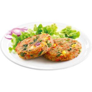 Hamburger con quinoa