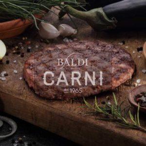 Hamburger di bovino di razza selezionata da Baldi Carni.