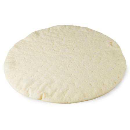 Base per pizza senza glutine precotta surgelata. Imbustata singolarmente