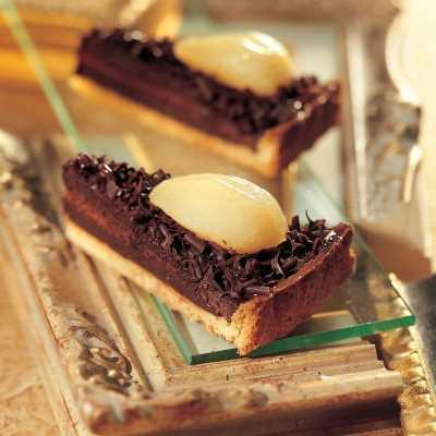 Pasta frolla con crema al cioccolato