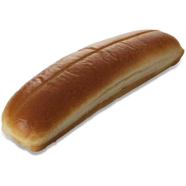 Pane hot-dog di pan brioche
