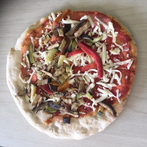 Confezione di pizze tonde miste