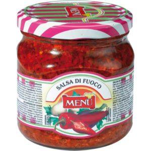 Tipica salsa della cucina calabrese a base di peperoncino