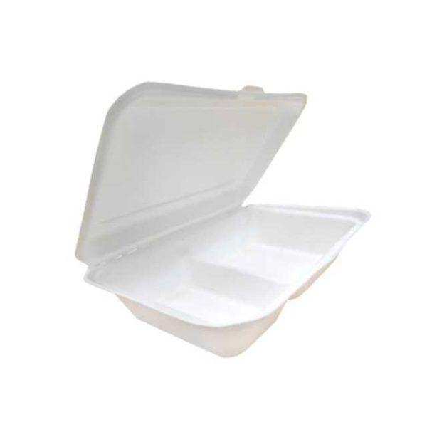 Scatola in cellulosa per l'asporto di Hamburger e prodotti similari.