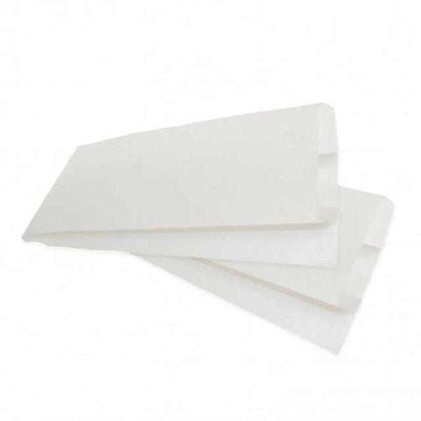 Sacchetti di carta per l'asporto di brioches.