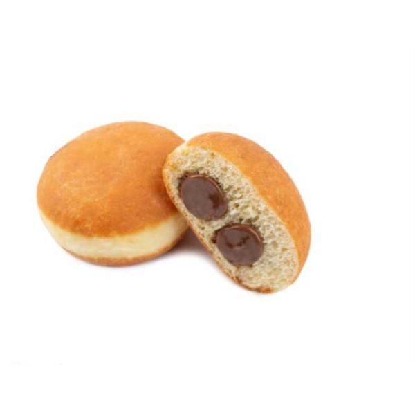 Classica ricetta golosa e ricca di farcitura (25%) con tante nocciole e cacao magro in polvere.